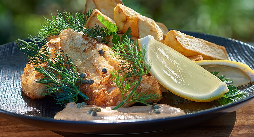 "The ""Best"" Fish and Chips with a Spicy Tartare"